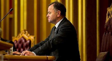 Масон возглавил норвежский парламент