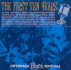 "CD ""Notodden Blues Festival. The First Ten Years."""